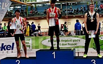 Joshua Walter ist Bayerischer Meister im 400-Meter-Lauf