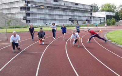 Endspurt und Start bei den DJK Leichtathleten