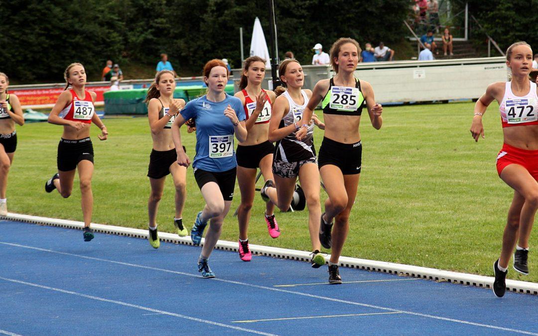 Bayerische Meisterschaften in der Leichtathletik in Erding