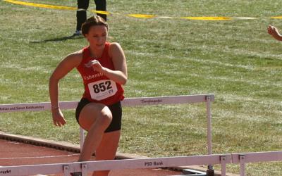 Oberpfalzmeisterschaften im Block-5-Kampf Sprint/Sprung