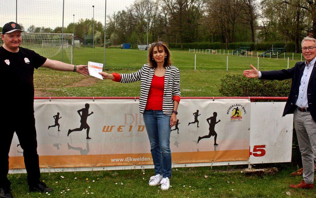 Sportabzeichenübergabe bei  der DJK Weiden