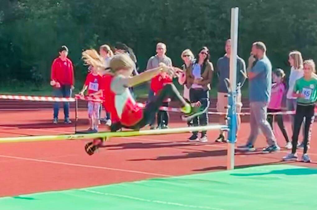 Junge Leichtathleten der DJK Weiden wieder auf den ersten Wettkämpfen